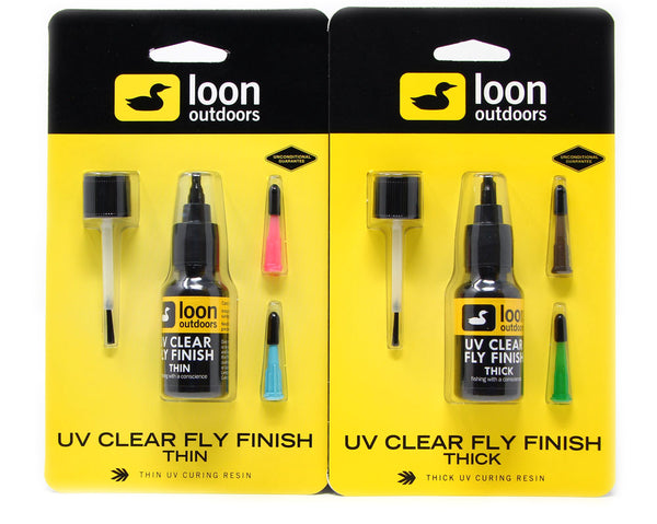 Loon Outdoors UV Clear Fly Finish - Thick Thin