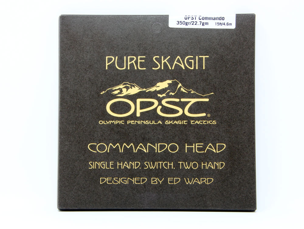OPST Commando Head Shooting Head Fly Line