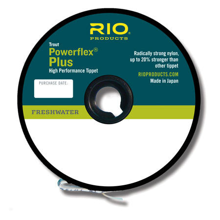 Rio Powerflex Plus Tippet Freshwater