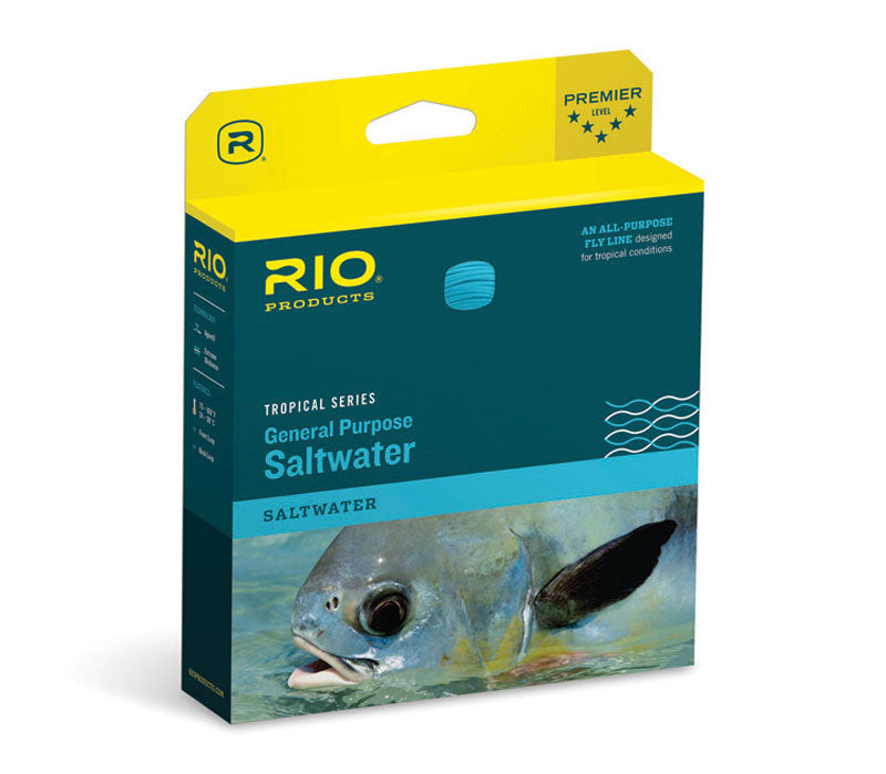 Rio General Purpose Saltwater Fly Line - Tropical