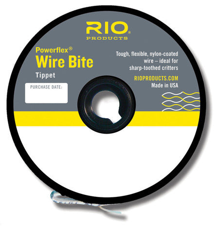 Rio Wire Bite Tippet Golden Dorado Musky Barracuda
