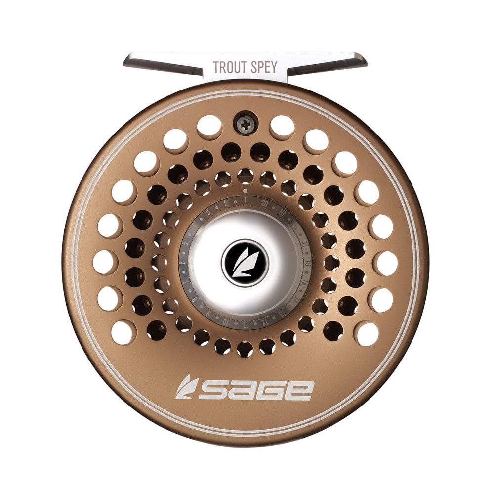 Sage Trout Spey Fly Reel - Bronze