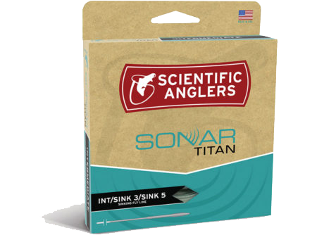 Scientific Anglers SONAR Titan INT/Sink3/Sink5 Fly Line