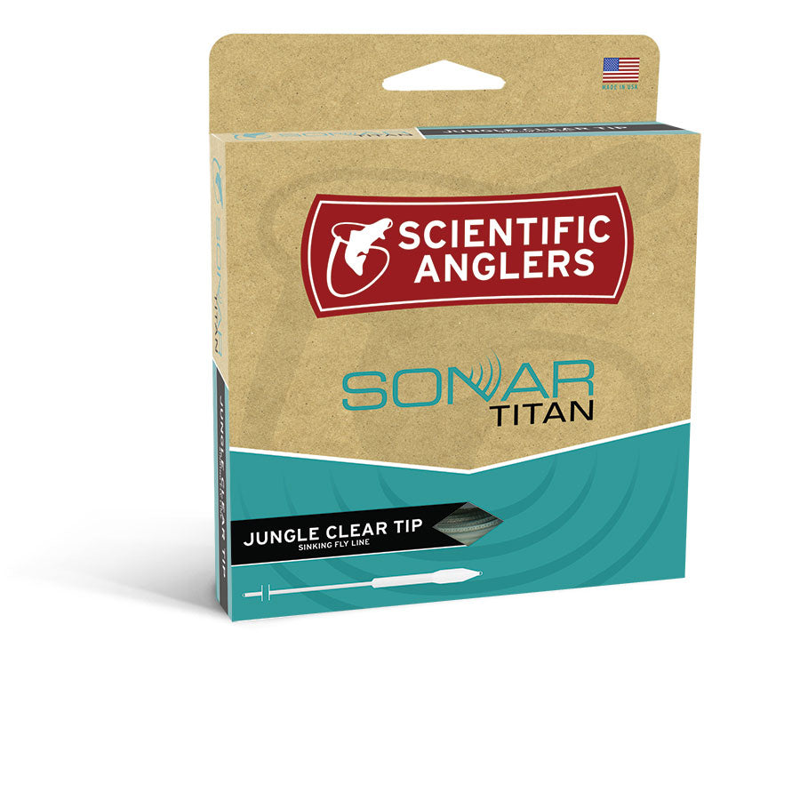 Scientific Anglers SONAR Titan Jungle Clear Tip Fly Line