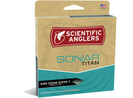 Scientific Anglers SONAR Titan Sink 3/Sink5/Sink7 Fly Line
