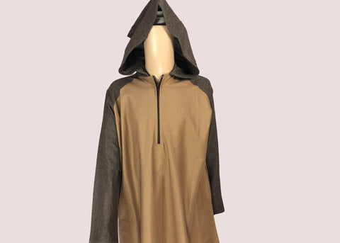 Brown Hoody  Thobe