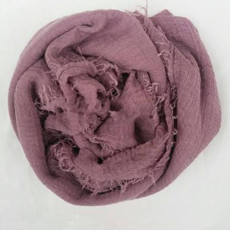 Light Purple Cotton Crinkle Hijab