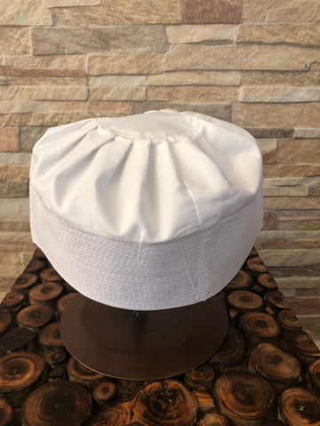 Black Pleated Kufi