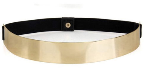 Metal Gold Belt Waistband