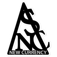 New Currency Sticker Logo