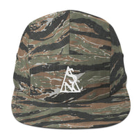 Camo New Currency Logo 5 panel hat