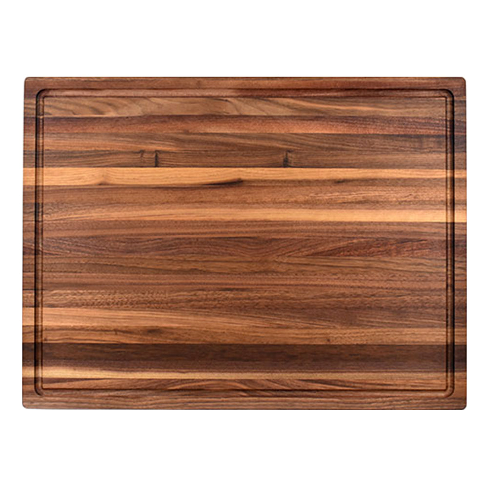 Large Butcher Block With Juice Groove