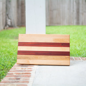 Handcrafted Edge Grain Cutting Board No. 010