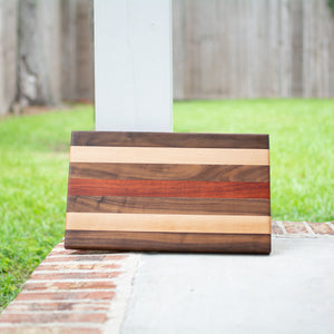 Handcrafted Edge Grain Cutting Board No. 012