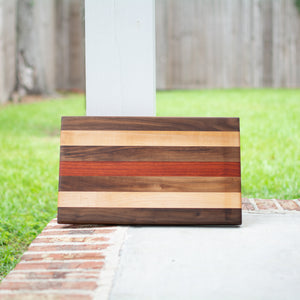 Handcrafted Edge Grain Cutting Board No. 013