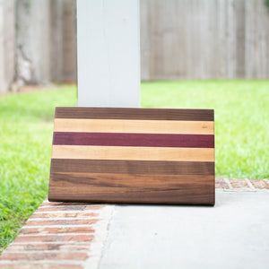 Handcrafted Edge Grain Cutting Board No. 014