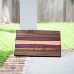 Handcrafted Edge Grain Cutting Board No. 015