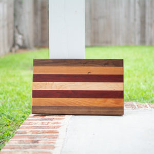 Handcrafted Edge Grain Cutting Board No. 004