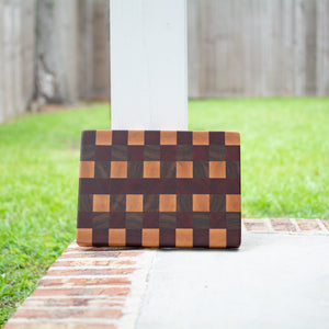 Handcrafted End Grain Cutting Board No. 006