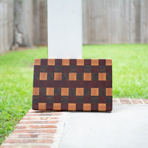 Handcrafted End Grain Cutting Board No. 007