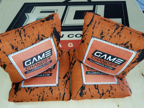 Game Changer <br> Orange <br> New Pro Cornhole Bags