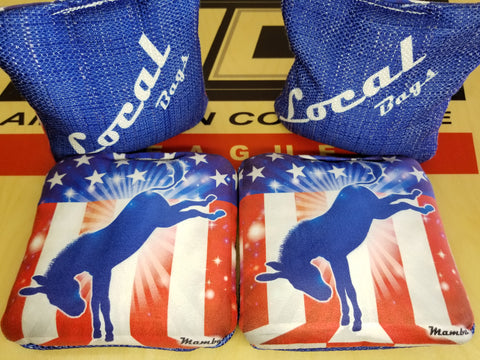 Arizona Cornhole Rentals - Pro Cornhole Bags - Local Democrat Mamba
