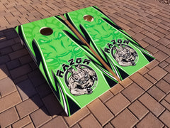 Official Razor Bags <br>Green<br> Tournament Boards