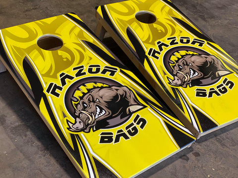 Official Razor Bags <br>Yellow<br> Tournament Boards
