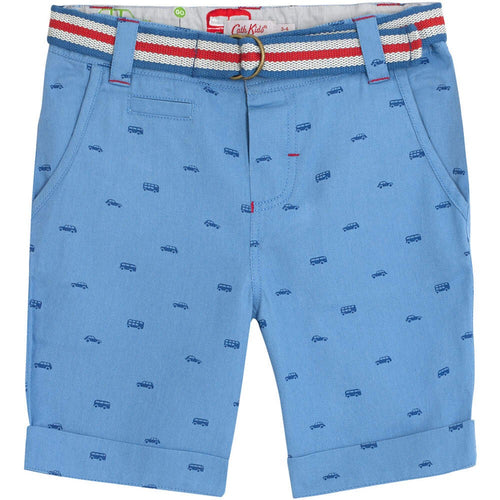 Cath Kidston Mono Transport Shorts with Belt