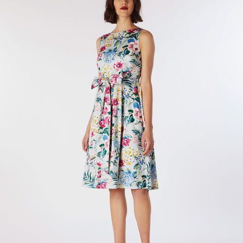 Cath Kidston Tropical Garden Cotton Sateen Dress