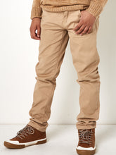 Boys Beige Chino Trousers