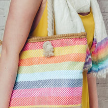 Candy Stripe Rope Bag