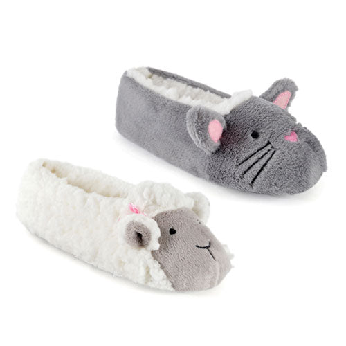Children's Slippers Sheep or Rabbit Design