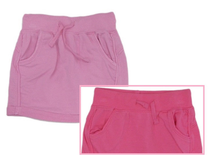Girls Lightweight Fleece Summer Skirt