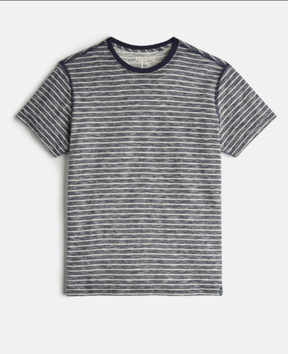 Joules Mens Skipper T-Shirt - Indigo Stripe