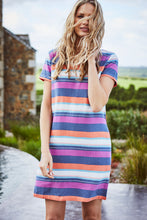 Lily and Me Linen Shift Dress Stripe