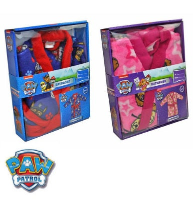 Paw Patrol Dressing Gown in Gift Box