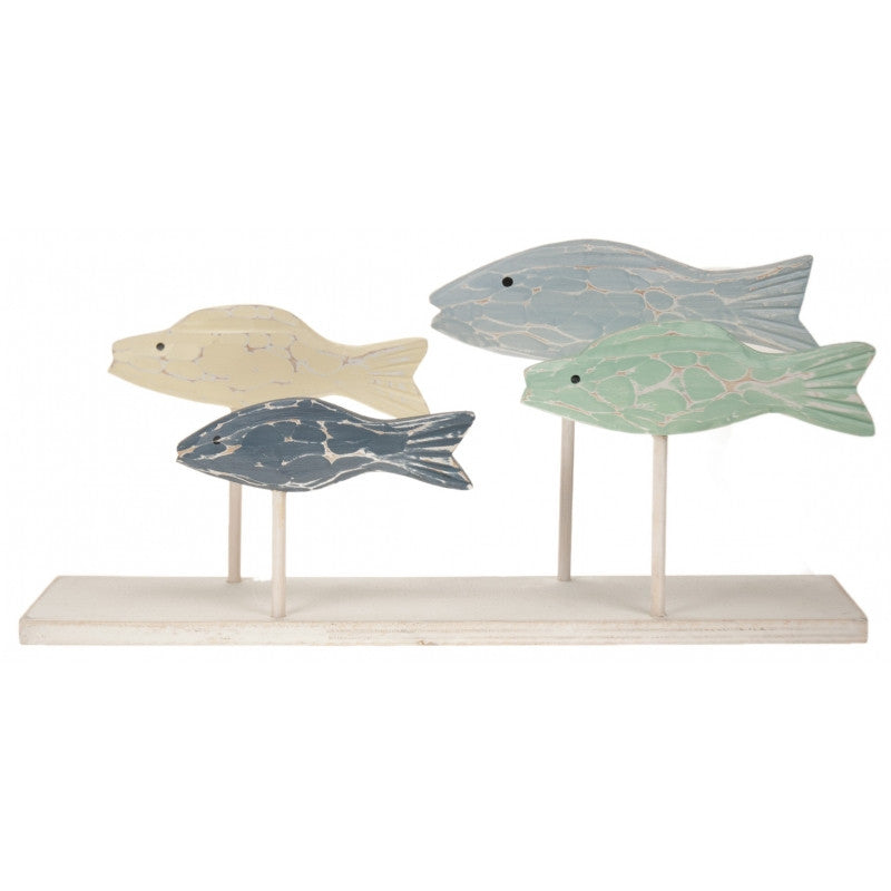 Wooden Swimming Fish on stand