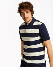 Joules Mens Filbert Classic Fit Striped Polo Shirt - French Navy Stripe