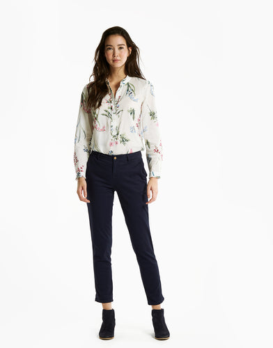 Joules Ladies Hesford Skinny Chino - French Navy