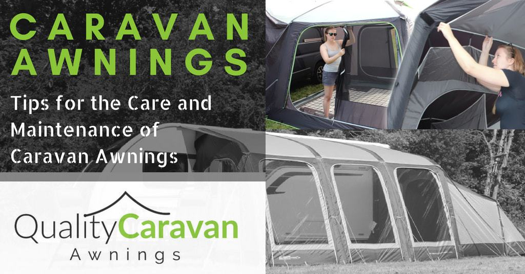 Tips For the Care and Maintenance of Caravan Awnings