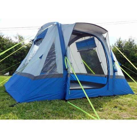 Olpro-Cubo Breeze Inflatable Campervan Awning (Blue/Grey)