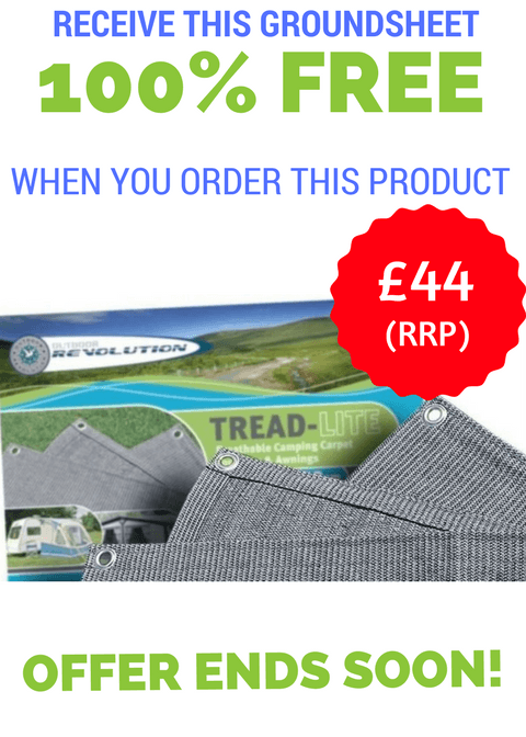 Free Groundsheet with Outdoor Revolution Awnings