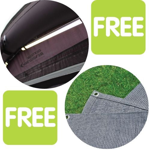 Outdoor Revolution Free Lumi-Link Tube Light Kit and Free Carpet With Awning