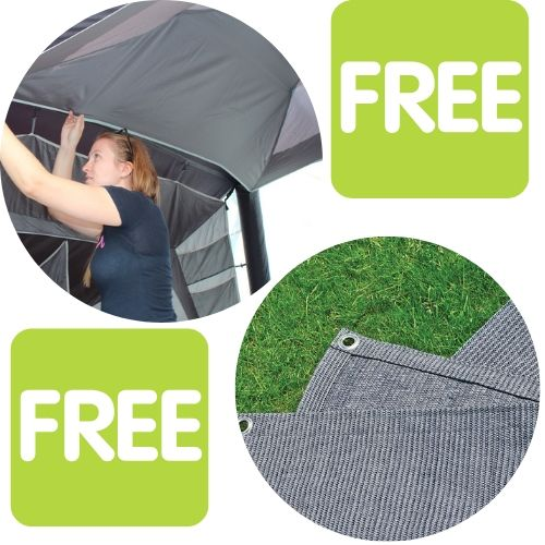 Outdoor Revolution Free Roof Liner and Free Awning Carpet