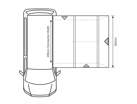Outdoor Revolution Cayman Cuba Air (Low/Mid) Inflatable Drive-Away Awning + Free Footprint (2021)