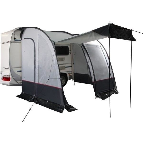 Royal Porch Awning 260 - Black/Silver + Free Storm Straps