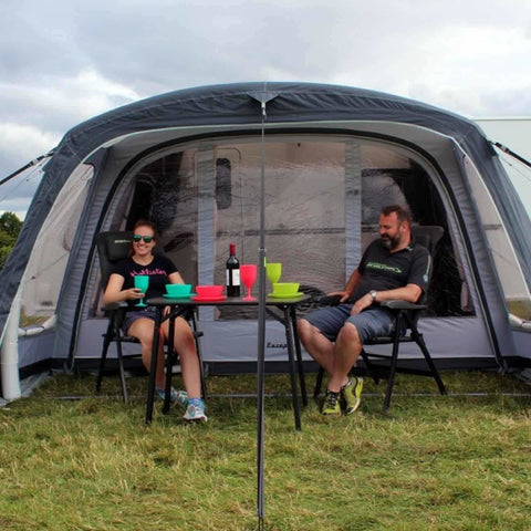 Outdoor Revolution Europa 380 Pro Caravan Air Awning (FREE Carpet) (2018) - Quality Caravan Awnings