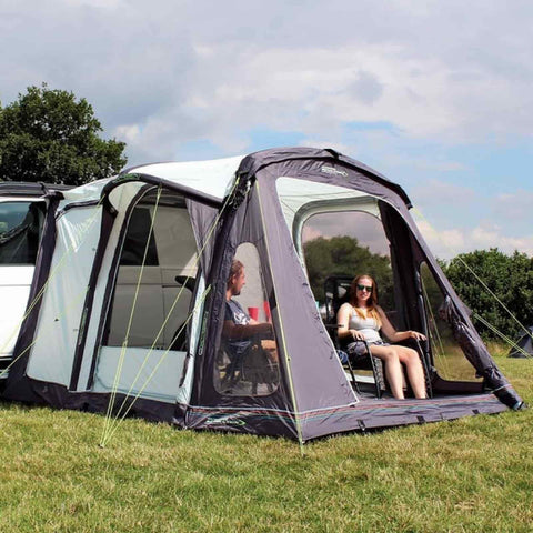 Image of Outdoor Revolution Movelite T2 2018 Driveaway Awning + FREE Groundsheet made by Outdoor Revolution. A Campervan Awning sold by Quality Caravan Awnings