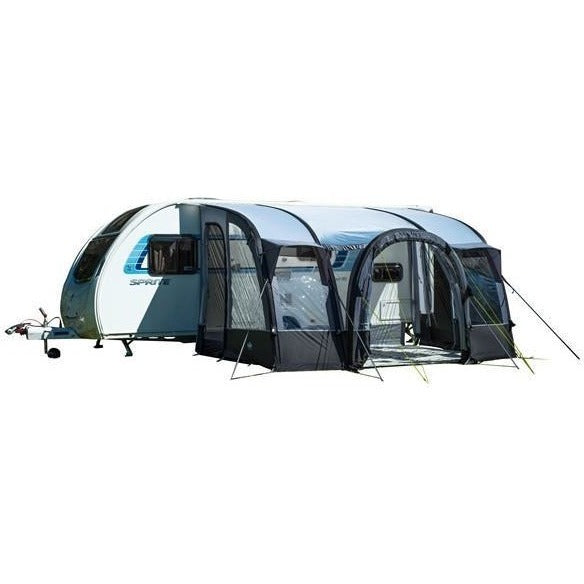 Royal Loxley Air 390 Inflatable Awning (Grey) + Free Storm Straps - Quality Caravan Awnings